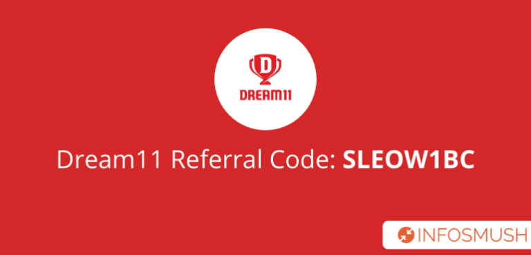 Dream11 Referral Code 2020: SLEOW1BC Get ₹100(with Tricks)