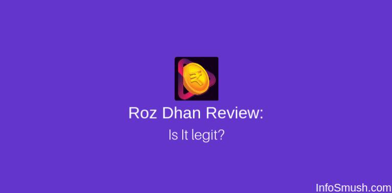 RozDhan App Invite Code 2020| Review: Is It Legit or Scam