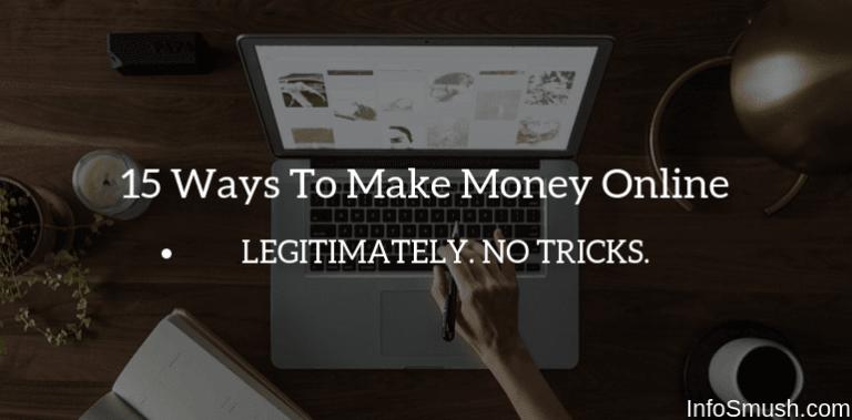 17 Ways To Make Money Online in India
