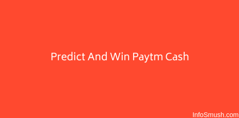 Predict & Win Paytm Cash with These 11 Apps
