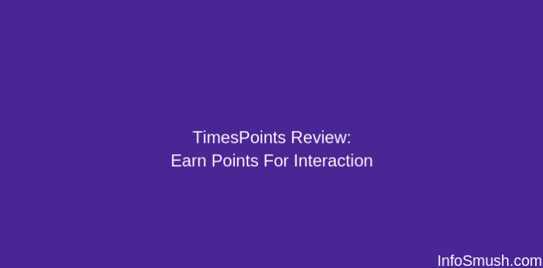 TimesPoints Referral Code: Get 100 Points on Sign up | Review