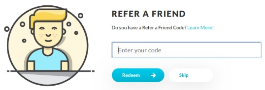 iRazoo referral code