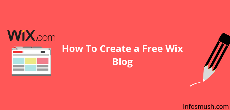 how to create a free wix blog