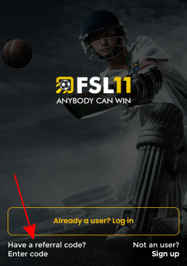 have a fsl11 referral code