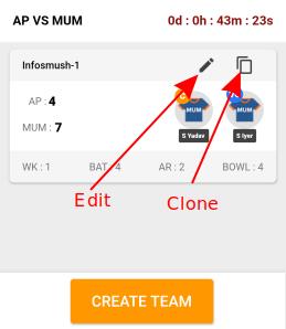 create multiple teams