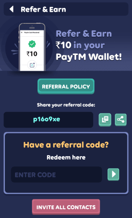 Zupee gold referral code