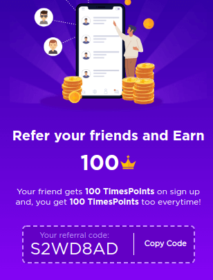 timespoints refer and earn