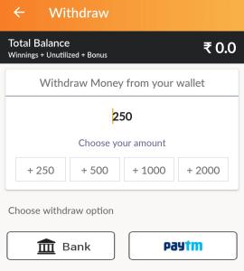 club11 withdraw