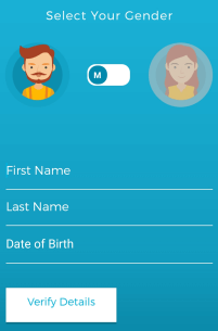 frizza app profile