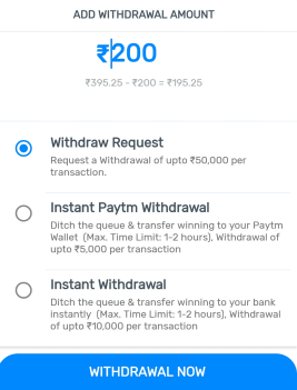 myteam11 paytm withdrawal