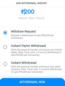 myteam11 paytm withdrawal