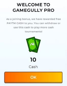gamegully sign up bonus
