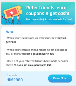 nostra pro refer and earn
