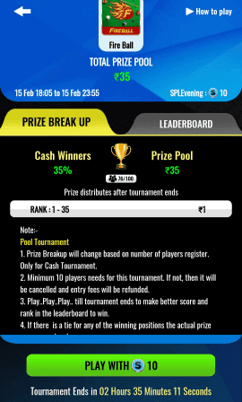 join spl pro tournament