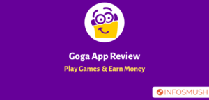 Goga Review | Referral Code | Download Apk | Earn Money Playing Games