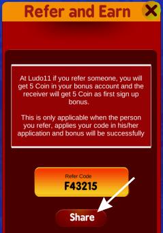 ludo11 referral code