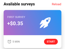 first survey