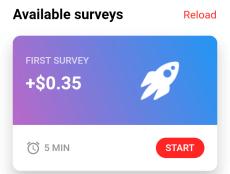 first survey