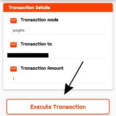 execute transaction