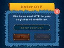enter otp