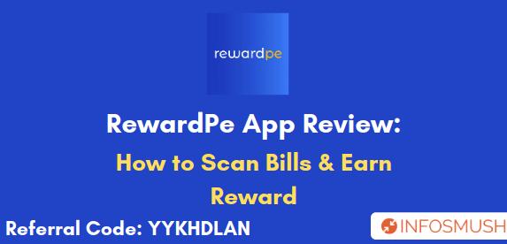 reward pe app referral code