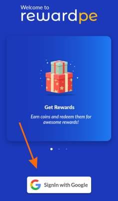 reward pe sign in