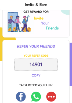 spin wala refer code