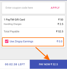 buy paytm gift card