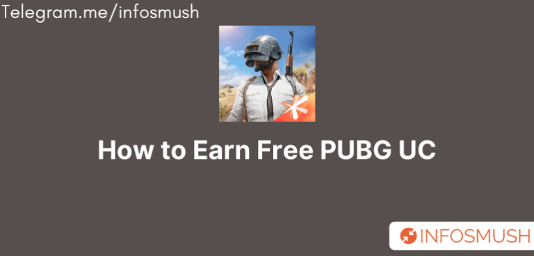 How to Earn Free PUBG UC/Free Fire Diamonds(Legally)