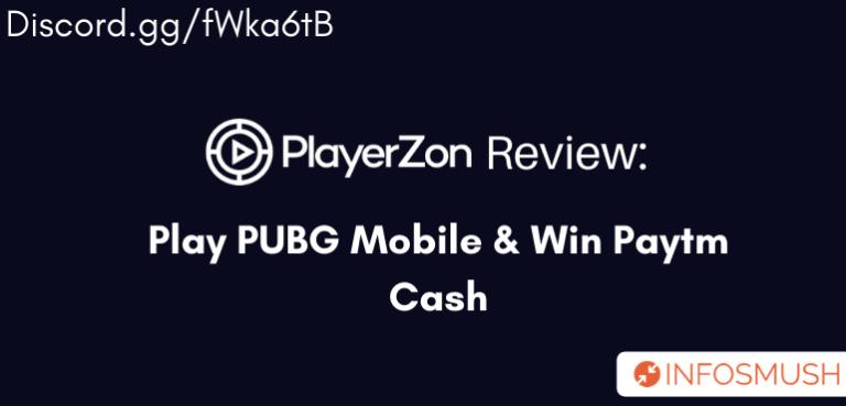 PlayerZon Promo Code | Review | Play PUBG & Win Paytm Cash