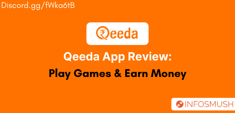 Qeeda Referral Code[₹20 Bonus] | Review(Proof Added)