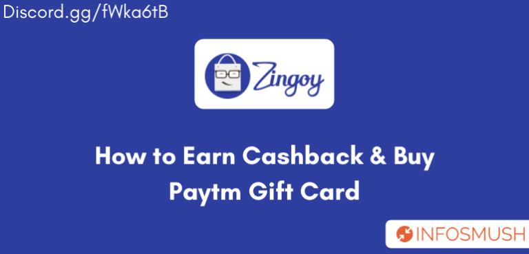 Zingoy Referral Code | Review | How to Earn Cashback