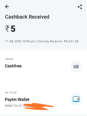 champad payment proof