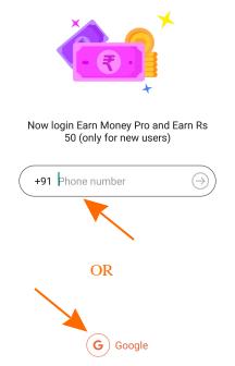 earn money pro login