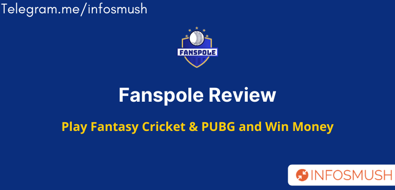 Fanspole Referral Code(FBS4LACBQ4): Play Fantasy PUBG & Win Money