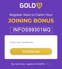 gold 11 promo code