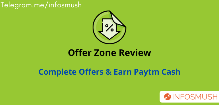 Offer Zone Refer Code | Review | Refer & Earn ₹25