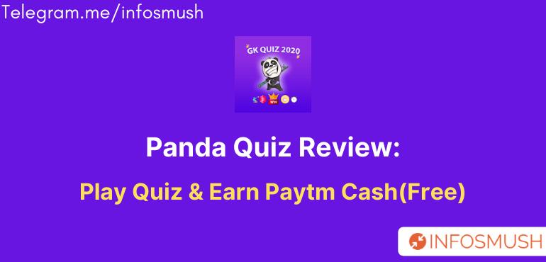 panda quiz app referral code