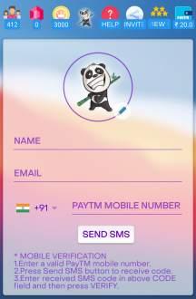 panda quiz register