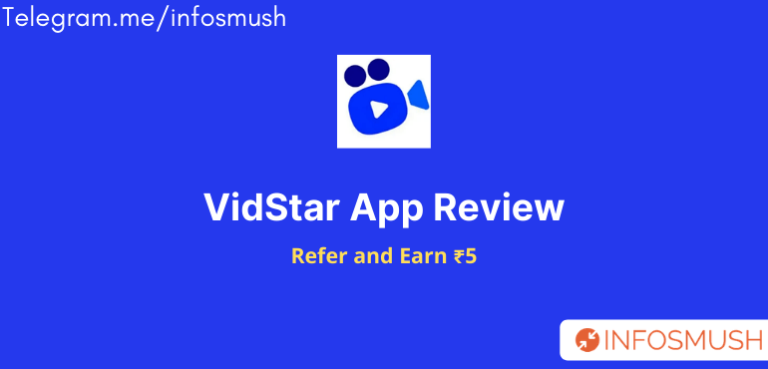 VidStar Reference Code | Download Apk | Review