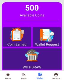 social reward wallet