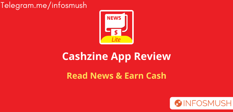 Cashzine Invite Code India: Read News & Earn Money