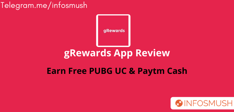 gRewards Refer Code | Apk Download | Review