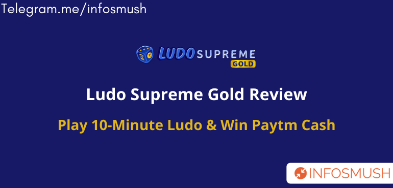 Ludo Supreme Gold Referral Code 2021 | Refer & Earn ₹20 Paytm Cash