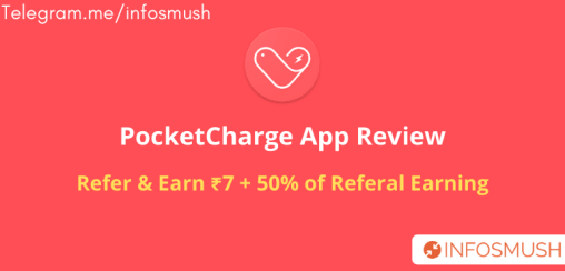 pocket charge refer code