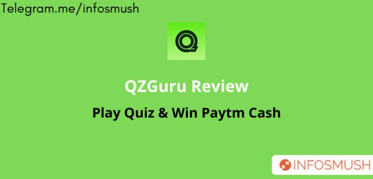QZGuru Referral Code | Apk Download | Refer & Earn ₹5
