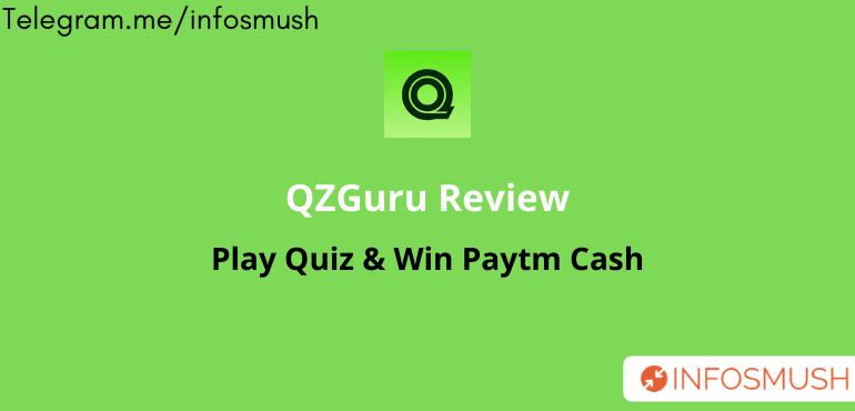 QZGuru Referral Code | Apk Download | Refer & Earn ₹5