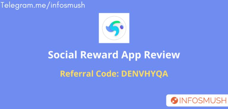 Social Reward Refer Code | Apk Download | Review