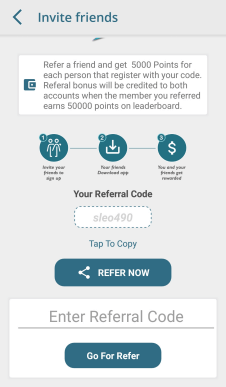 gigred quiz referral code