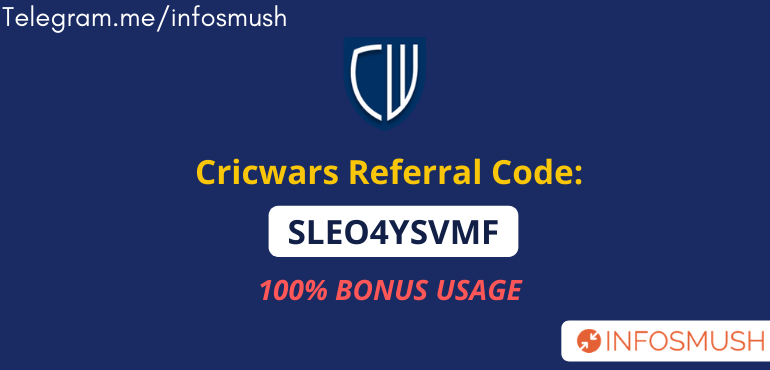 cricwars referral code